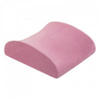 Подушка подспинная Back memory foam розовая