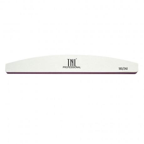 TNL Пилка для ногтей лодочка 180/240