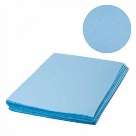 """Салфетки """"Спанлейс"""" 40*40 100шт,40г/м2,синие"""