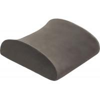 Подушка подспинная Back memory foam серая
