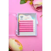 Ресницы розовые (pink) Lovely MINI-MIX,6 линий
