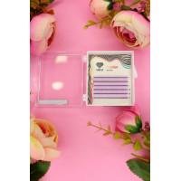 Ресницы лиловые (violet) Lovely MINI-MIX,6 линий