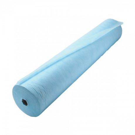 Простыни 80*200 в рулоне голубые Плотные