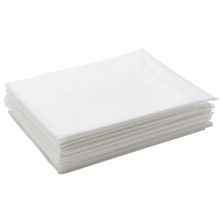 Простыни 70*200 одноразовые в сложении (белый),